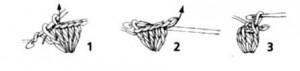 как вязать шишечки крючком