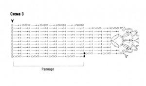 схема вязания чехол для мобильного телефона