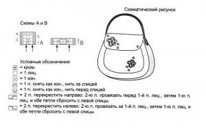Схемы вязания валяная сумочка