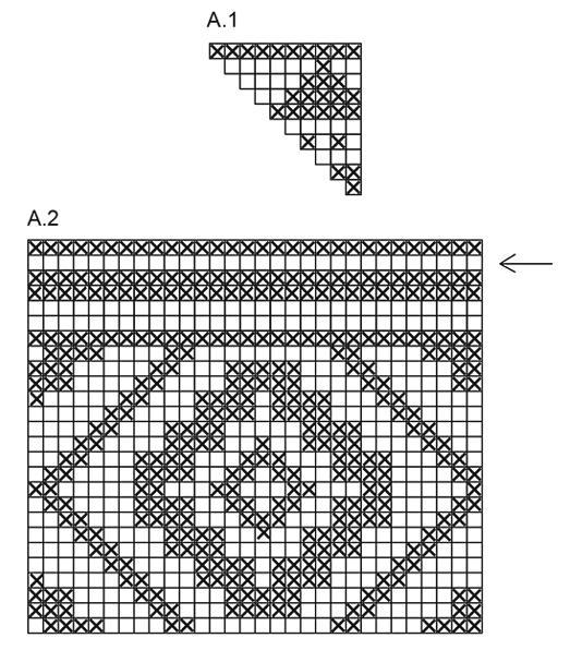 Схемы вязания орнамента