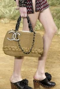 Плетеная сумка chanel