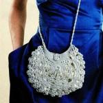 свадебная вязаная сумочка крючком