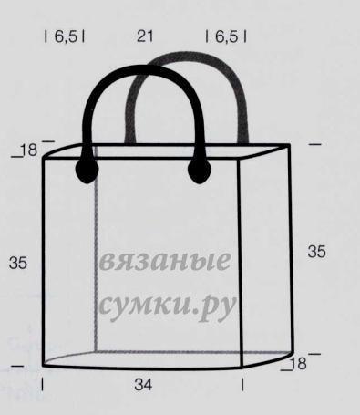 Как сшить хозяйственную сумку своими руками выкройка 830