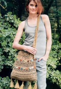 Вязаная сумка крючком схемы вязания бесплатно