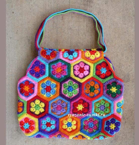ade4dc6b348e Вязаные сумки. ру - вязание сумок крючком и спицами.