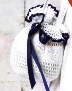 Вязанная сумочка для девочки крючок